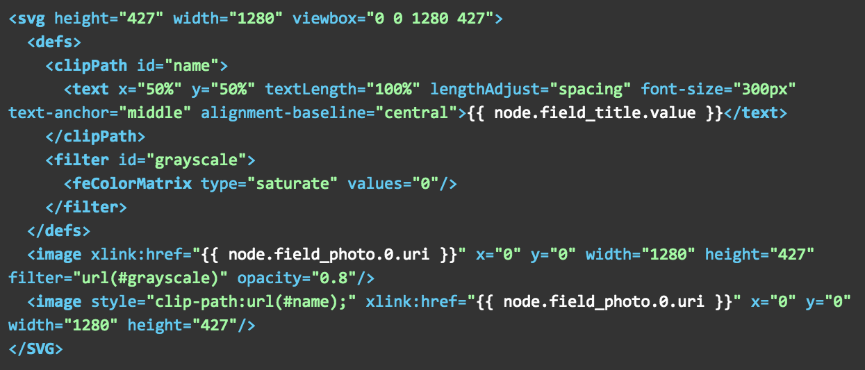Maybe-crazy Things to do with Inline SVG in Drupal 8 Twig