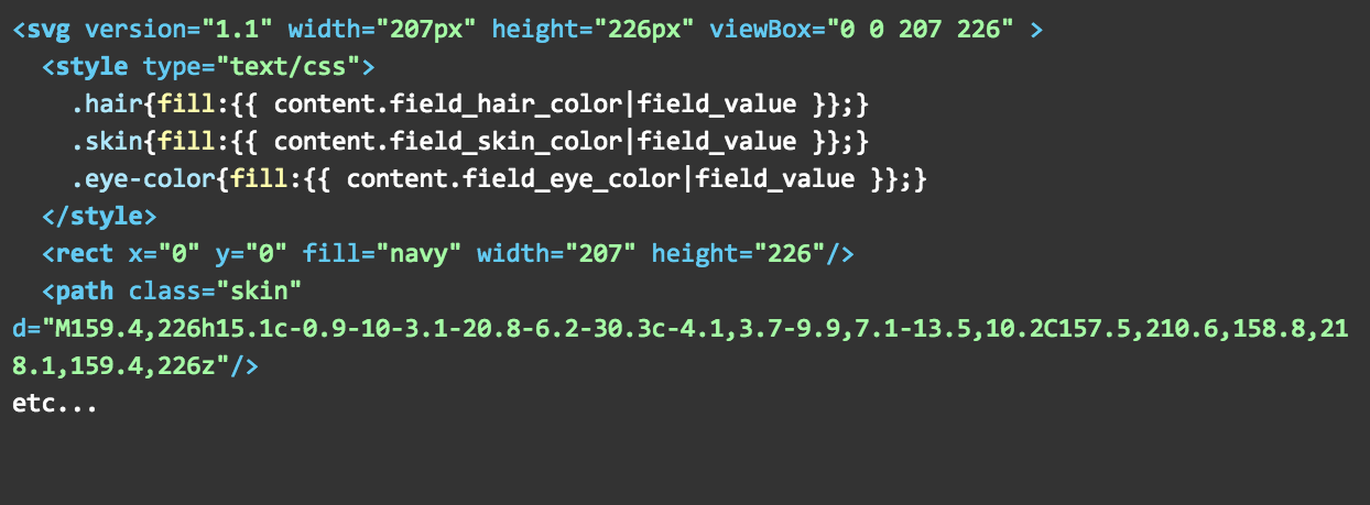 Maybe-crazy Things to do with Inline SVG in Drupal 8 Twig Templates